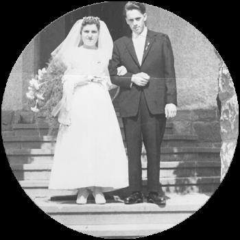 Hochzeit von Friedrich und Rosemarie